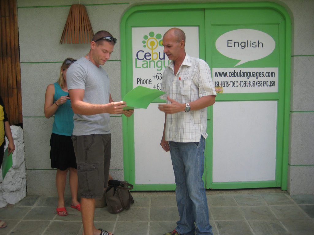 learn english courses cebu philippines ielts toeic esl business school